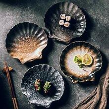 Mzxun Bol Creative salade en céramique en forme