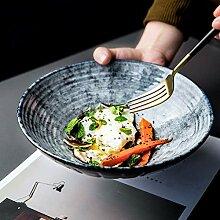 Mzxun Bol de style japonais gris de bol en