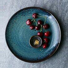 Mzxun Bol de style japonais plaque en céramique