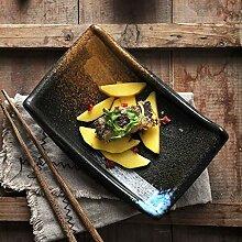 Mzxun Bol japonais en céramique Vaisselle rétro