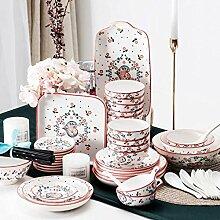Mzxun Céramique de vaisselle,