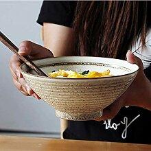 Mzxun Creative Bowl style japonais Ramen Bowl