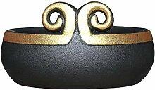 Mzxun Décorations Art Artisanat Or cerceau