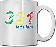 N\A 321.Let 's Jam Home Tasse à thé en
