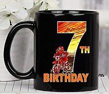 N\A 7 Ans Dirt Bike Fête d'anniversaire