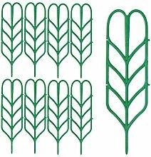 #N/A 9pcs Support de Plante Support de Plante en