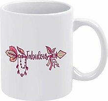 N\A abuleuse Tasse à café en céramique Tasse à