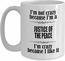 N\A adeaux de Juge de Paix - Tasse à café de