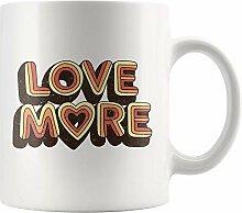 N\A Amour Plus Tasse pour Vintage rétro Amant