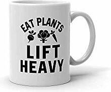 N\A asse à café Manger des Plantes soulever Une