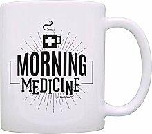 N\A Asses à café drôles Matin médecine café