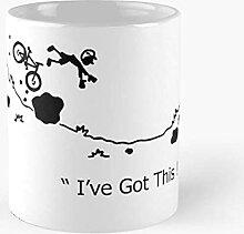 N\A Bike Off MTB Cycling Falling Joke Funny