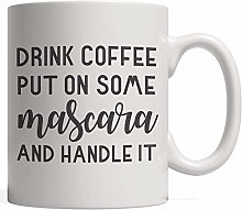 N\A Boire du café, Mettre du mascare et Le
