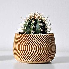 N A Cache-Pot Design Waves (Bois)