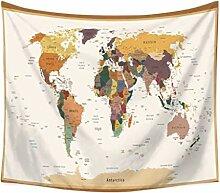 N\A Carte du Monde tentures murales Image