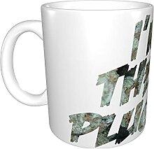 N\A Drogue Argent Tasse à café en céramique