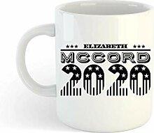 N\A Elizabeth McCord 2020 Tasse à café Madame