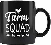 N\A Farm Squad Coffee Mug Cadeau pour Farm Girl