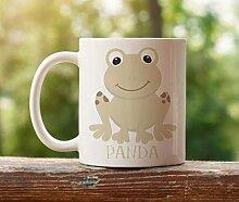 N\A Grenouille personnalisée Mug Woodland Animal
