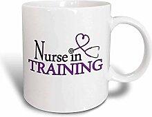 N\A Infirmière drôle de Tasse de café en