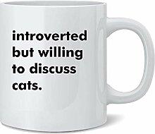 N\A Introverti mais disposé à discuter de Chats