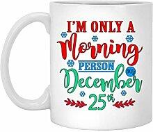 N\A Je 'M Seulement Une Tasse de Noël de