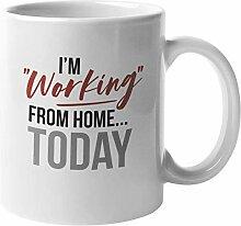 N\A Je Travaille à la Maison Aujourd'hui
