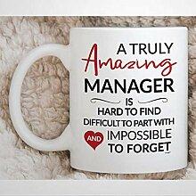 N\A Manager Mug Manager Retraite Présent Manager