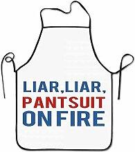 N\A Menteur Fou, menteur Tailleur Pantalon sur feu