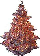 N A Mini sapin de Noël artificiel floqué de