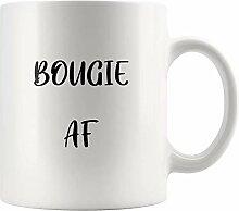 N\A Mug-Bougie AF Mug Cadeau d'anniversaire