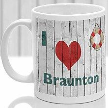 N\A Mug Braunton Cadeau à retenir Devon Design