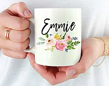 N\A Mug-Mug personnalisé avec nom, Tasse de nom
