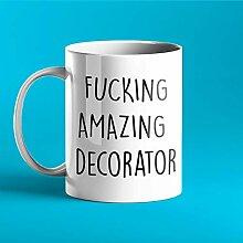 N\A Mug personnalisé drôle baise décorateur