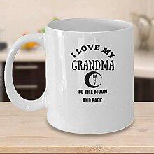 N\A Mug-personnalisé Je t'aime à la Lune et