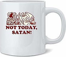 N\A Pas Aujourd'hui Satan jésus drôle Dank