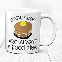 N\A Personnalisé Giftpancakes Amant Mugpancakes