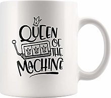 N\A Reine de la Tasse de Machine pour Fille, Tasse