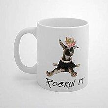 N\A Rockin It Goat Lover Farm Animal Mom Girl
