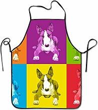 N\A Tablier à bavette réglable Bull Terrier