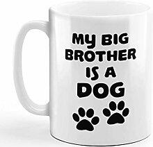 N\A Tasse à café 11 onces Mon Grand frère est