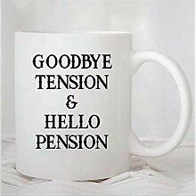 N\A Tasse à café, au Revoir Tension et Bonjour