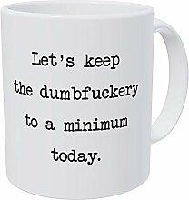 N\A Tasse à café drôle - Gardons-Le Amical et