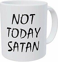 N\A Tasse à café drôle - Pas Aujourd'hui