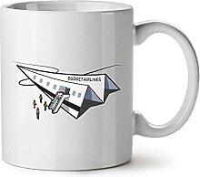 N\A Tasse à café en céramique, Tasse à thé