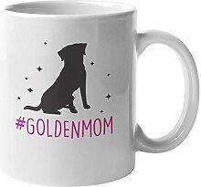 N\A Tasse à café et thé Hashtag Golden Mom pour