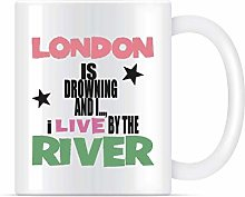 N\A Tasse à café I Live by The River London Live
