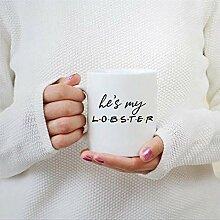 N\A Tasse à café il 's Mes Amis Homard