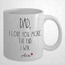 N\A Tasse à café, Papa Je t'aime Plus, la
