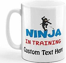 N\A Tasse à café personnalisée 11 onces Ninja